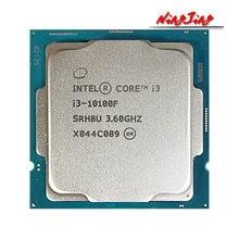 Procesador Intel Core i3-10100F i3 10100F 3,6 GHz, 4 núcleos, 8 hilos, L2 = 1M L3 = 6m 65W LGA 1200