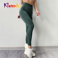 Seamless Leggings Women Fitness Tights High Waist Yoga Pants Sexy Push Up Sport Sportwear For Running Gym