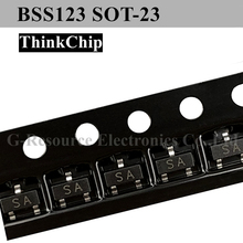 Chanzon 100pcs AO3409 SOT-23 Sic Mosfet P-Channel 2.6A Transistor SMD