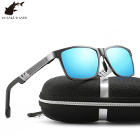 Whale shark new all aluminium magnesium polarized sunglasses men and women Driving glasses fishing glasses UV400 Protection