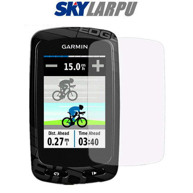 3 sztuk ochrona ekranu LCD osłona tarcza Film dla Garmin Edge 800 810 GPS HD Anti Scratch elektrostatyczne PET darmowa wysyłka