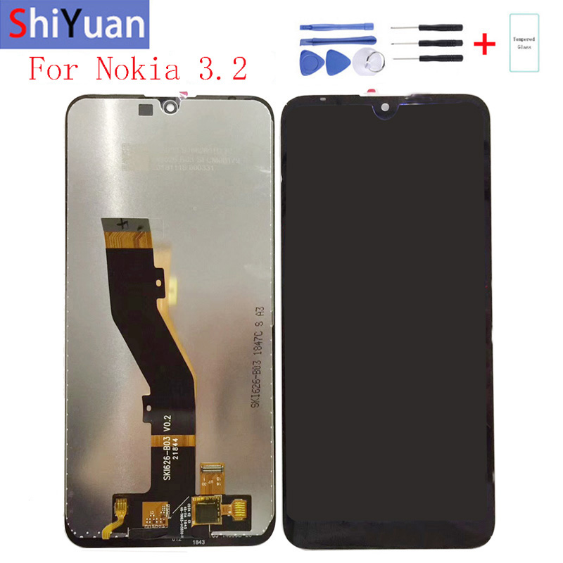 """Original 6.26""""For Nokia 3.2 LCD Display Touch Screen Digitizer Assembly Replacement For Nokia 3.2 TA-1156, TA-1159, TA-1164"""