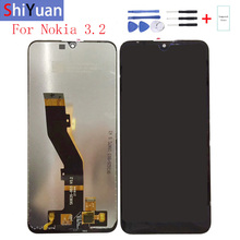 Original 6.26For Nokia 3.2 LCD Display Touch Screen Digitizer Assembly Replacement For TA-1156, TA-1159, TA-1164