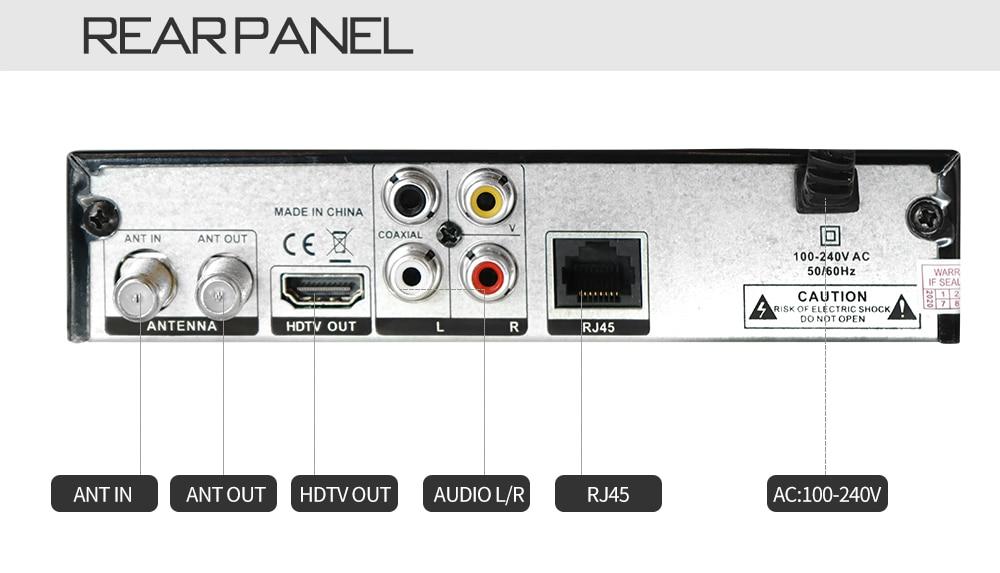 Digital Terrestrial ISDB-T TV Tuner Receiver Set-Top Box Fully HD 1080P H.264 USB Decoder for Brazil Chile Peru 10 -