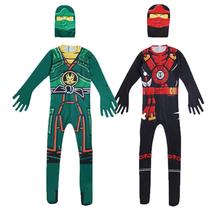 Kostiumy dla dzieci kostiumy dla dzieci kostiumy dla dzieci Ninjago kostiumy dla chłopców przebranie na Halloween kombinezony dla superbohaterów tanie tanio spraying CN (pochodzenie) Kombinezony i pajacyki Headgear Film i TELEWIZJA Chłopcy Zestawy Poliester