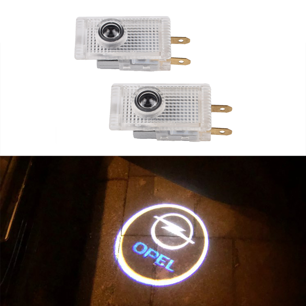 2pcs LED Car Logo Door Welcome Laser Projector Light For Opel Insignia A B 2009 2010 2011 2012 2013 2014 2015 2016 2017 2018