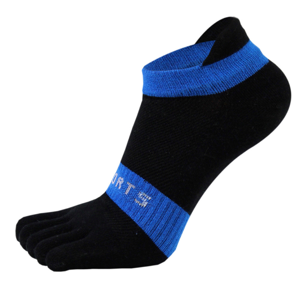 38-43 Men Outdoor Sports Bicycle Socks 1Pair Breathable 5 Finger Toe Slipper Sock Coolmax Pro Cycling Running Socks BC0337 (7)