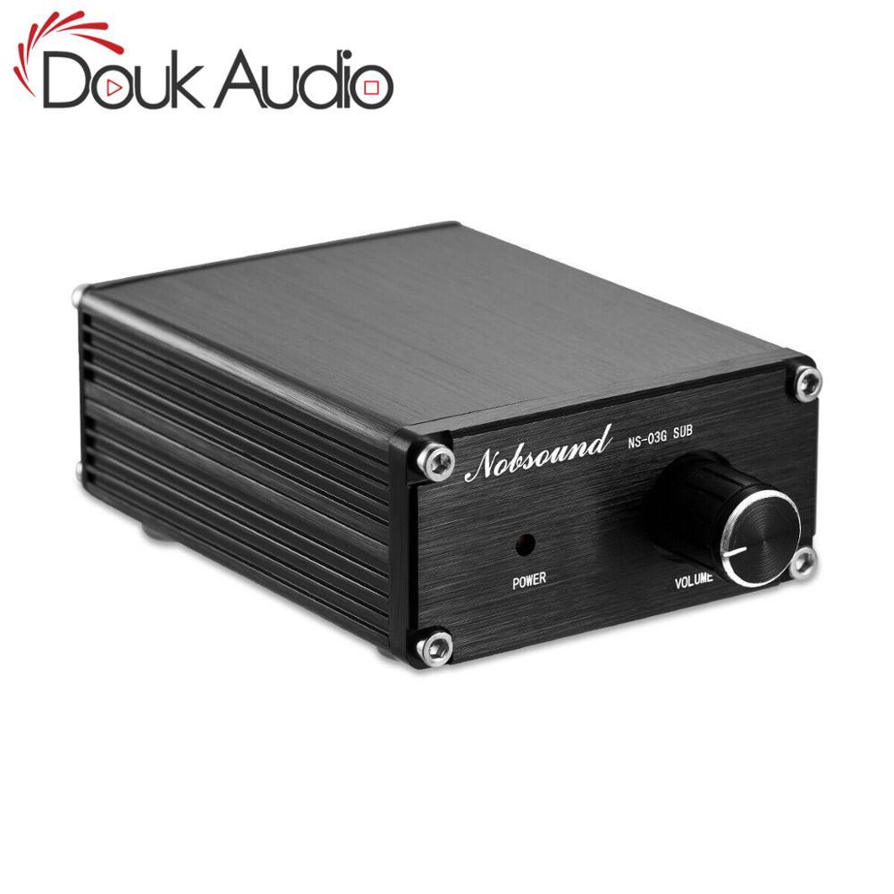 Douk Audio Hi-Fi 100W Mini TPA3116D2 Subwoofer / Full Frequency Power Amplifier Mono Channel Digital Audio Amp