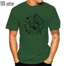 Pentagrammaton scrashua Shirt 14 Tshirt Occult Witchcraft satana Witch Crowley