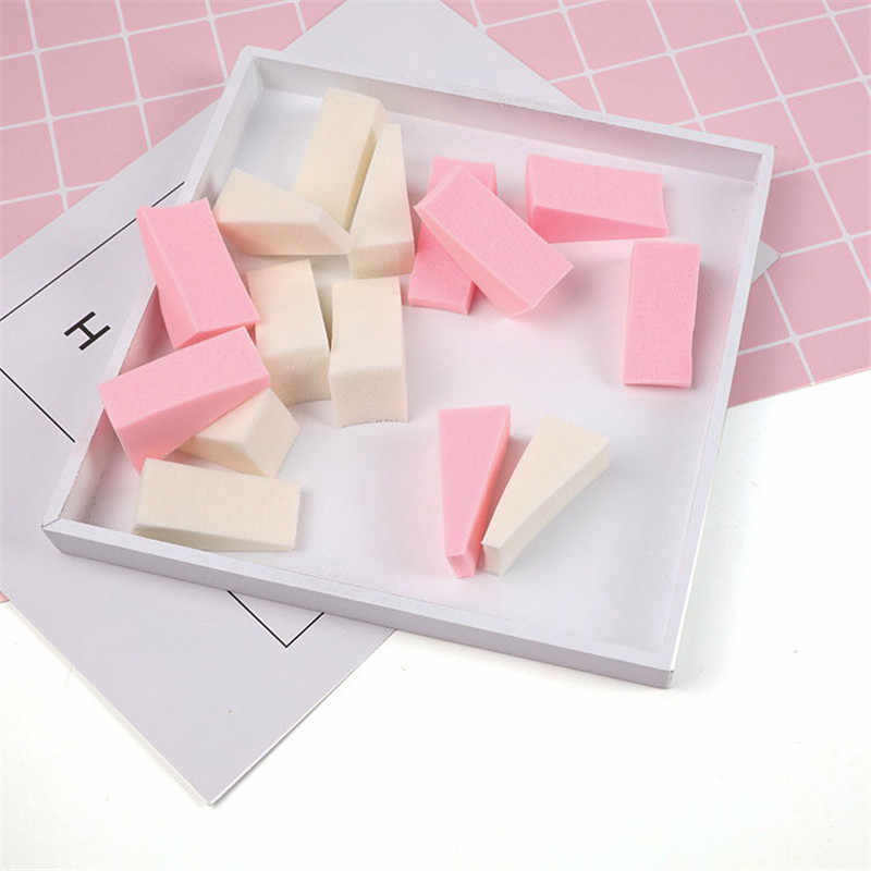 1Pcs Dreieck Make-Up Schwamm Puffs Gesichts Foundation Pulver Basis Creme Make-Up Schwamm Schönheit Kosmetische Glatte Puff