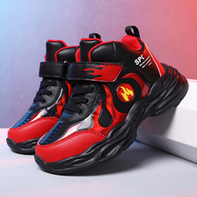 Children Shoes Sneakers kids Shoes For Boys High Quality Casual Sports Shoes Students Shoes New Basketball Shoes cheap VOSONCA Spring Summer Autumn Winter Rubber Cotton Fabric Latex Fits true to size take your normal size Anti-Slippery Hook Loop