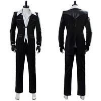 Final Fantasy VII Cosplay Reno Costumes Uniform Full Suit Halloween Party Costumes