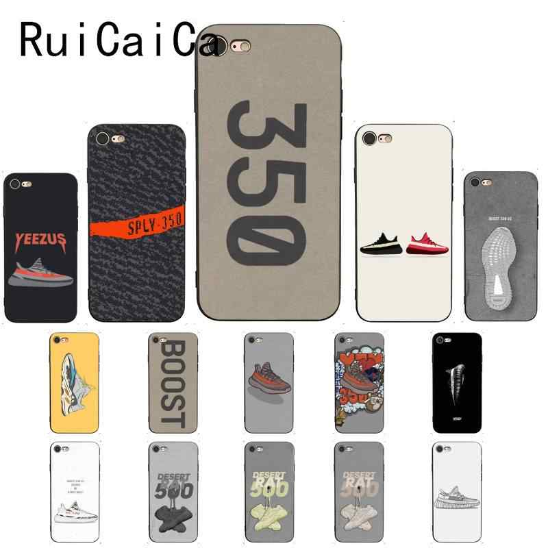 Ruicaica Kanye Omari oeste BOOST 350 700 V2 moda cliente funda de teléfono para iPhone 5 5Sx 6 6 7 7plus 8 8Plus X XS X MAX XR 10 cubierta