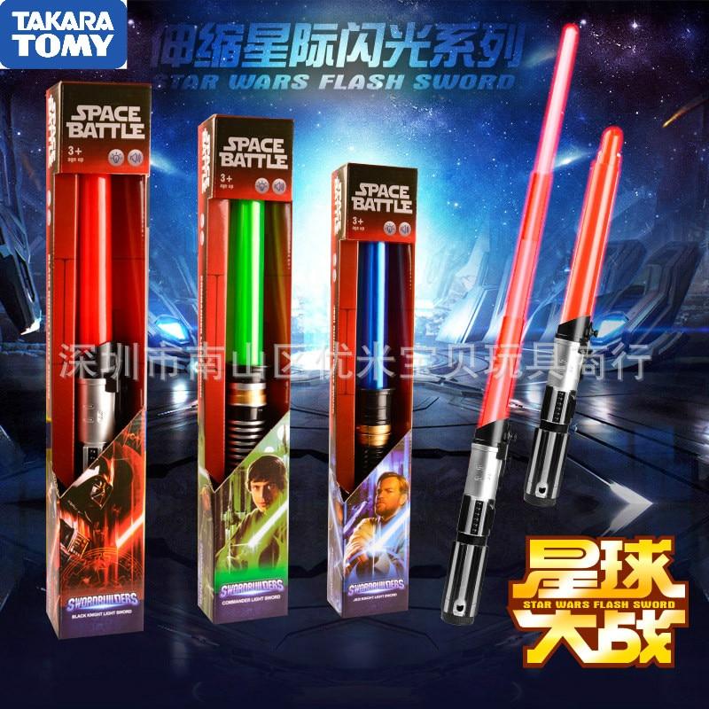 The Latest Star Wars Kelloren Force Awakening Electric Energy Retractable Laser Sword Children's Luminous Sound Lightsaber Toys