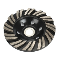 4 zoll 100mm Diamant Segment Schleifen Cup Rad Grinder Beton Granit Stein Cut Schleifmaschinen    -