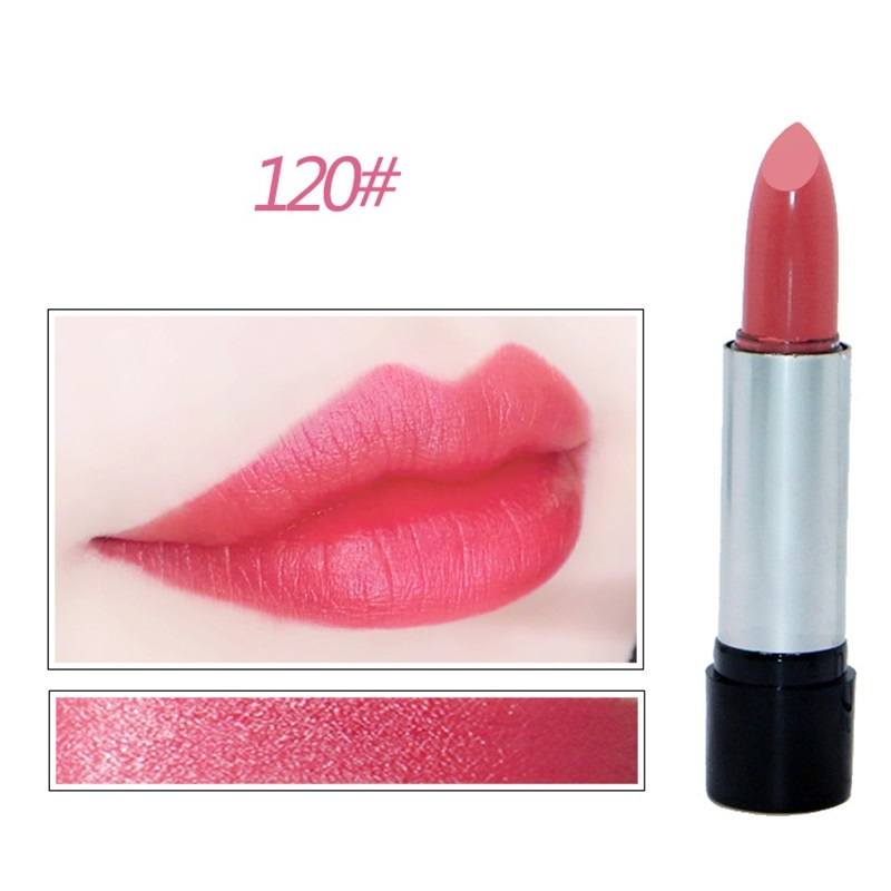 Cheap Long lasting Lipstick Pigment Shimmer Primer Nude Lip Stick Waterproof Moisturizer Lip Gloss Makeup Lip Batom Cosmetics