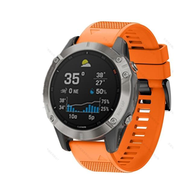 FIFATA Smart Watch Band Straps For Garmin Fenix 6 6S 6X 5X 5 5S 3 3HR Forerunner 935 945 Quick Release Strap Silicone Bracelet 4