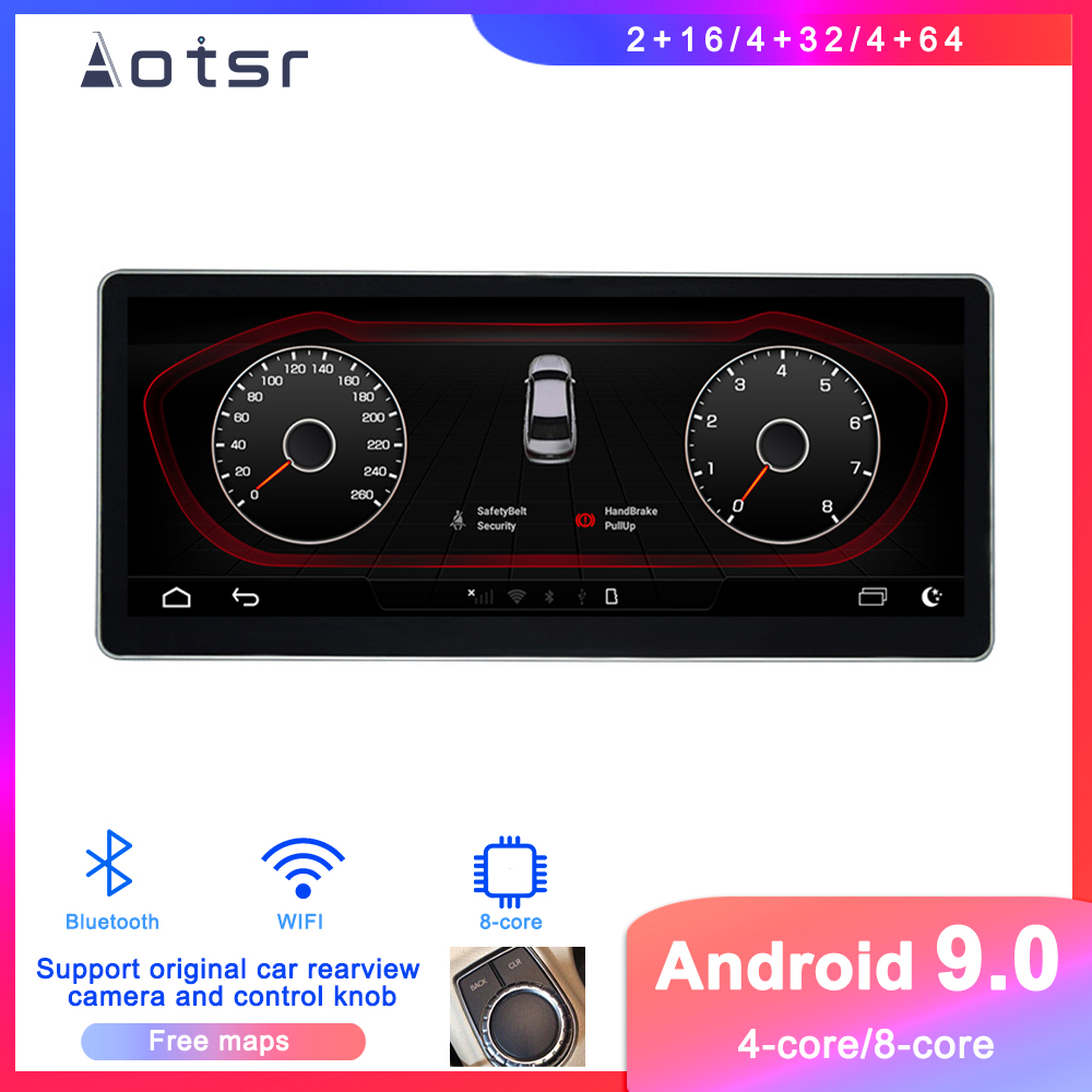 <font><b>Android</b></font> 9 Car DVD player GPS Navigation For <font><b>Audi</b></font> A4L 2017 2018 Car Auto <font><b>Radio</b></font> stereo multimedia player touch screen head unit image
