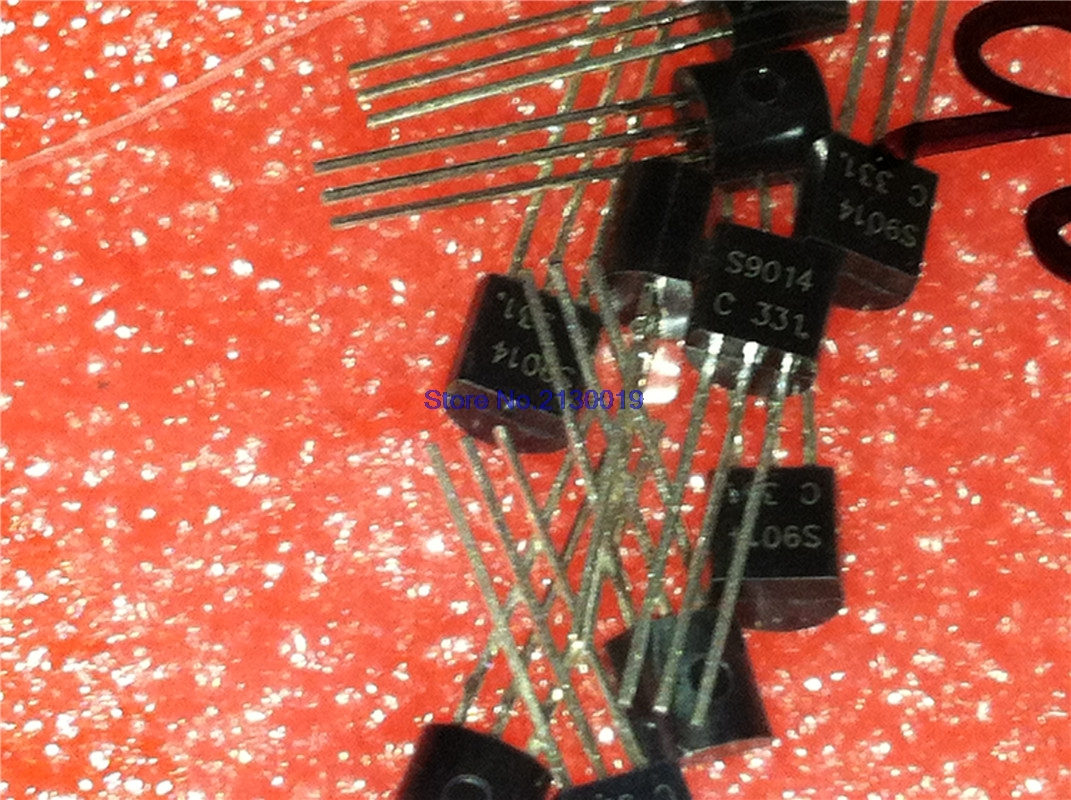 4pcs/lot S9014 9014 TO-92 In Stock