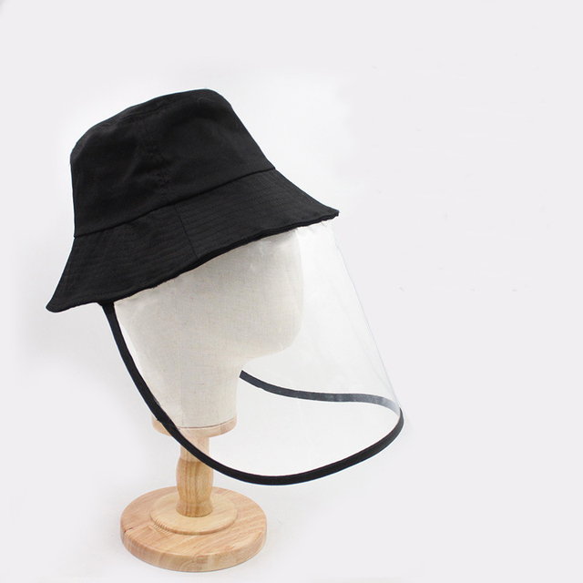 Anti Virus Mask Protective Anti-saliva Dust-proof Sun Hat Safety Full Face Shield Mask Protection Tool Fisherman Fishing Cap 4
