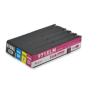 Image 4 - 970XL совместимый для hp 970 XL 971XL чернильный картридж hp OfficeJet X451dn X451dw X476dn X476dw X551dw X576dw X451 X476 X551 для струйной печати
