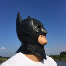 Halloween cosplay Mask Toys Marve Super Hero Batman Helmet Mask Headgear Dark Knight Cosplay Halloween Props Unisex Horror Toy