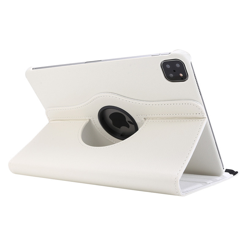 White White Case for iPad Pro 11 Cover 2021 2020 2018 A2228 A2068 A2230 A2013 A1934 A1980 360