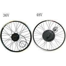 Ebike Электрический задний мотор колесо преобразования без батареи 20 26 27,5 27 28 29 дюймов 250 Вт 500 Вт 1000 Вт 1500 Вт E велосипед 36 в 48 в