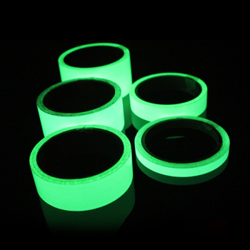 Reflective Tape Car Stickers Funny Decal DIY Light Luminous Warning Glow Dark Night Tapes Sticker Safety Car-covers Accessories image