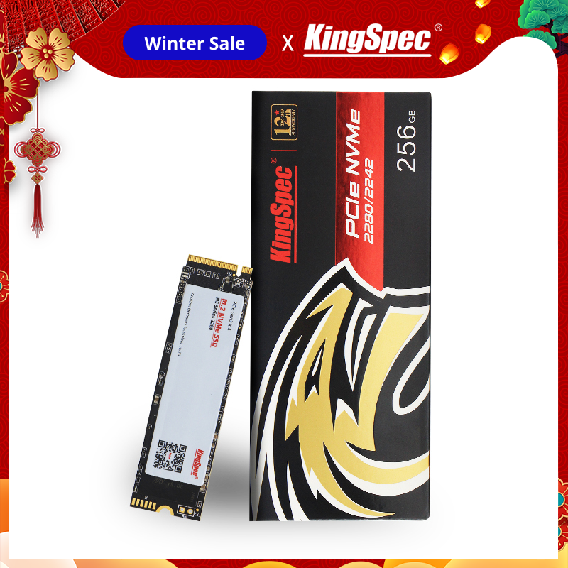 Kingspec Solid-State-Drive Hdd Hard-Disk Laptop Desktop M.2 Ssd Internal 2280/2242 NVME title=