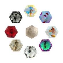 Новинка высокое качество шестиугольник k9 с кристаллами стразы