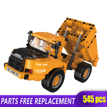 The Offroad Technic XingBao New 03034 Construction Transport Vehicle Set Building Blocks bricks Toys boys Funny Christmas Gifts