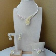 Yuminglai Dubai Costume Jewelry  Unique Design  for Women FHK8017