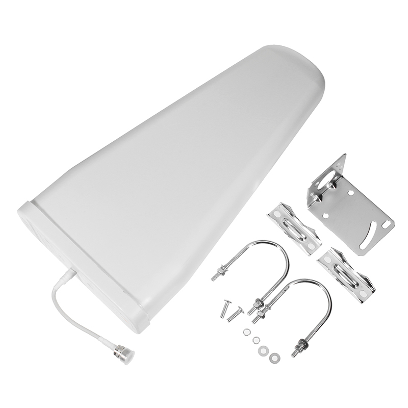 9/ 10dBi High Gain 800-2500mhz Outdoor LPDA Yagi Antenna For Cell Phone Signal Booster Repeater Amplifier 3G 4G CDMA GSM DCS PCS