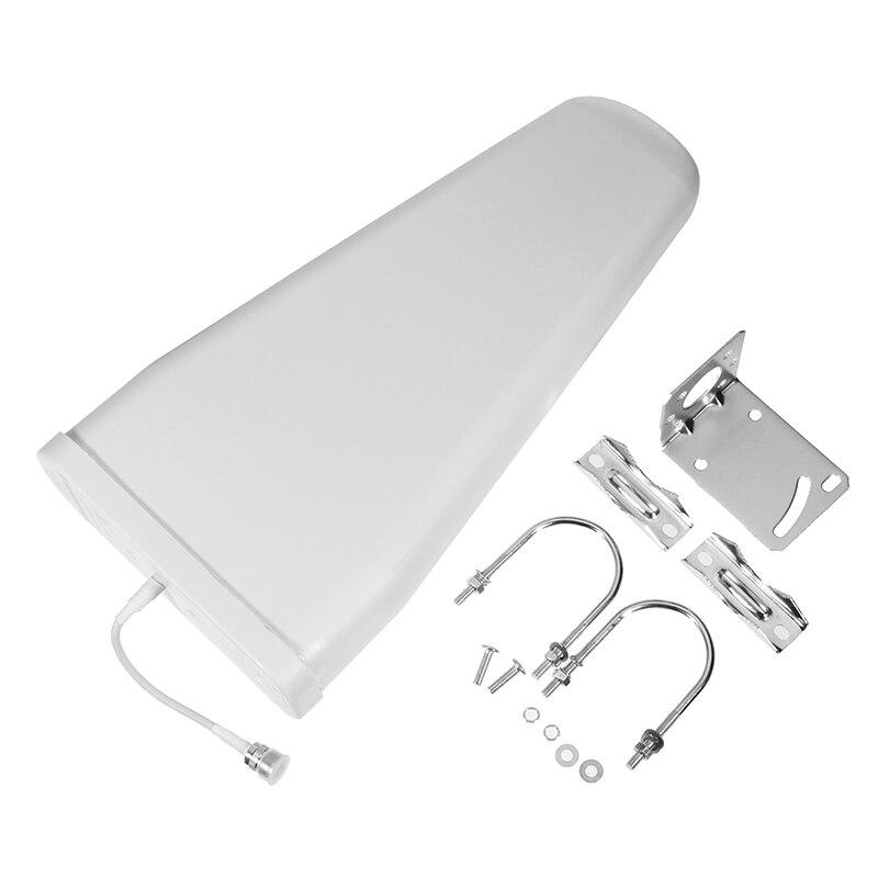 9/ 10dBi High Gain 800-2500mhz Outdoor LPDA Yagi Antenna For Cell Phone Signal Booster Repeater Amplifier 3G 4G CDMA GSM DCS PCS