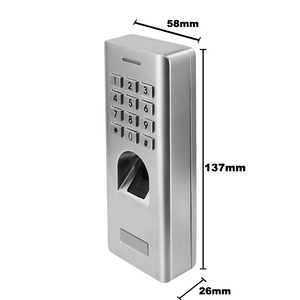 Image 2 - IP66 1000 مستخدمين مستقل بصمة كلمة السر لوحة المفاتيح قارئ التحكم في الوصول لفتح بوابة نظام قفل أمان للأبواب
