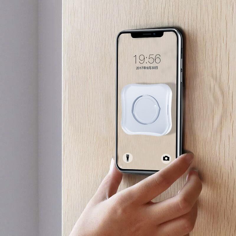2019 Magic Nano Rubber Pad Mobile Phone Holder Sticker Universal Phone Car Bracket No Trace Multi-Function Fixate Gel Pad TSLM1