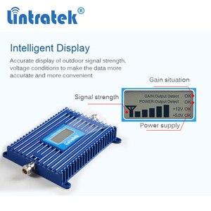 Image 2 - Lintratek 4G 700 טלפון אות מהדר מגברי LTE 700Mhz Band28 מאיץ סלולארי AGC 70dB LTE נייד מגבר עבור אירופה