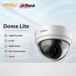 Dahua imou Dome Lite 1080P H.265 Wifi IP камера видеонаблюдения ночное видение облако следите за вашим домом и имуществом безопасность семьи