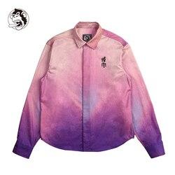 Mannen Shirts Herfst Losse Casual Daily Kleurrijke Print Lange Mouwen Shirt Top Blouse Hoge Kwaliteit Mannetjes Sociale Shirts College Shirts