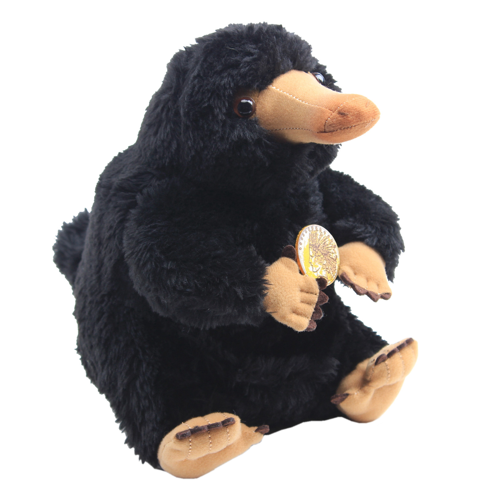 20cm Fantastic Beasts and Where to Find Them Niffler Collector's Plush Toys <font><b>Peluche</b></font> Black Duckbills Stuffed Animal Doll Kid Gift image