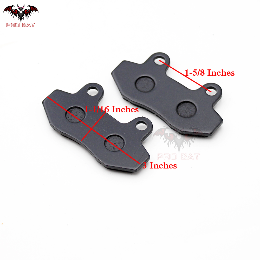 Scooter Moped Front Rear Disc Brake Pads Shoes 50cc 125cc 150cc 250cc