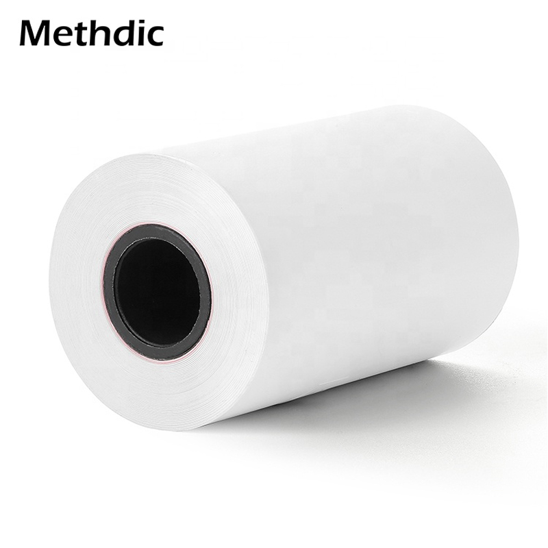 Methdic 57*30mm 10 Rolls BPA Free Thermal Paper Rolls For ATM