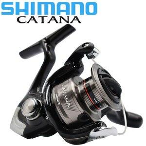 Original SHIMANO Reel CATANA Fishing spinning reel 2+1BB 1000/2500/3000/4000 3.0KG-8.5KG power seawater/freshwater metal Spool(China)