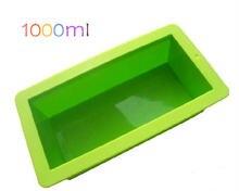 1 шт силиконовая форма для мыла 1000 мл