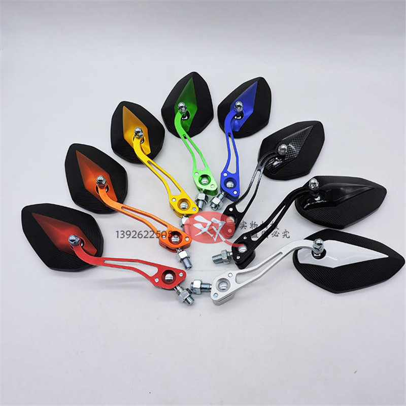 motorbike electrical moto side mirror racing pit bike rearview motocross side mirror scooter universal motorcycle accessories in Side Mirrors Accessories from Automobiles Motorcycles
