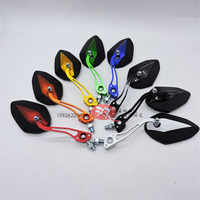 motorbike electrical moto side mirror racing pit bike rearview motocross side mirror scooter universal motorcycle accessories