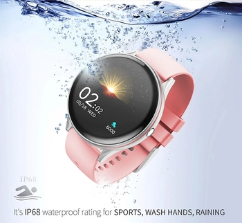 Women Men Smart Electronic Watch Luxury Blood Pressure Digital Watches Fashion Calorie Sport Wristwatch DND Mode For Android IOS 5
