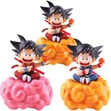 Dragon topu Z çocuk çocuk Son Goku on takla bulut Son Gokou rakamlar PVC Goku rakam eylem koleksiyon Model oyuncak