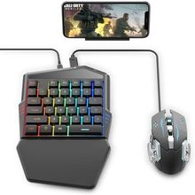 Delta essentials Mobile Gaming Keyboard and Mouse Controller(Adapter build in) for iPhone/iPad iOS/Android OS PUBG/Call of Duty eachine r051 150ch 5 8g av recevier build in bat for iphone android ios smart mobile phone tablet vs rotg01 uvc otg for rc toys